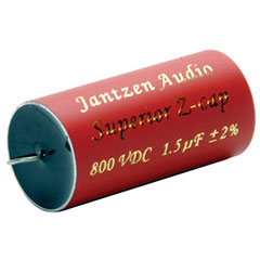 Jantzen Superior Z-cap 1.5 uF 800V 2%-Jantzen Superior Z-cap 1.5 uF 800V 2%