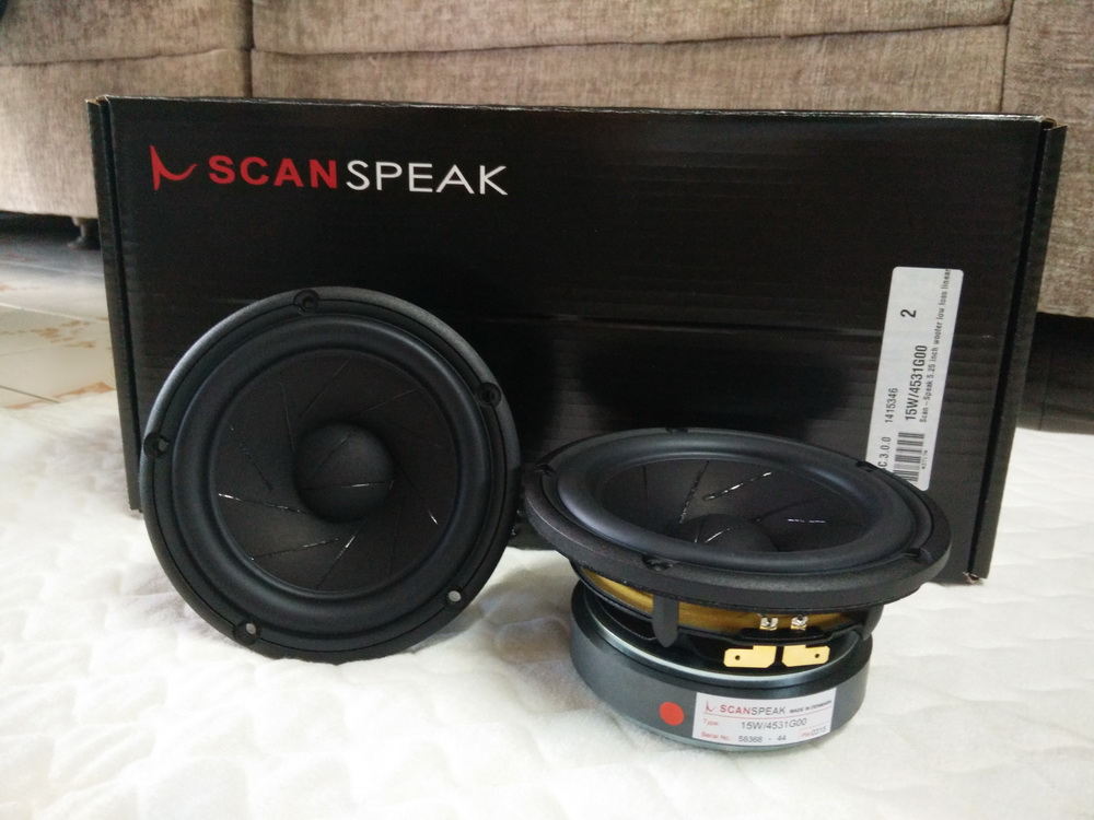 Scan-Speak 15W/4531G00 (�ͧ����) -  BETTER  SOUND  CARAUDIO  ��˹�������ͧ���§ö¹��  HI-END  �ҷ���  
