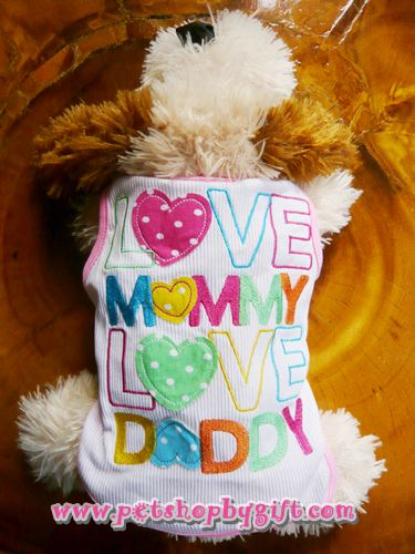 ������״�ѡ��� Love Mommy Love Daddy size3  -  ���������觫����Թ�����Ť���������� 500�ҷ ���� �Ѵ�������!!!                                                                                                                                                                                            Pet shop by Gift