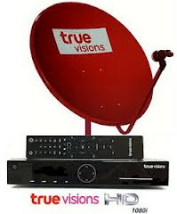 ชุดจาน true vision HD Plus