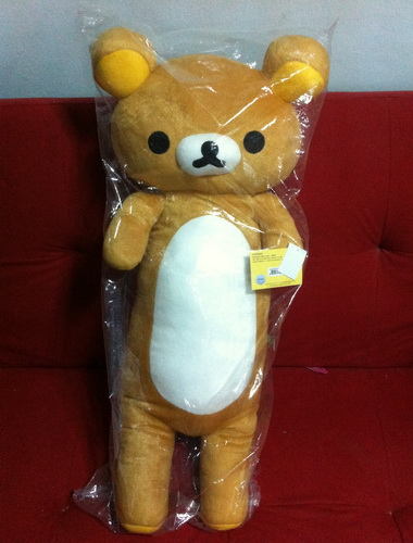 ��͹��꡵� Rilakkuma �ҹ�Ԣ�Է��� San-X  -  ��˹��µ�꡵��Ԣ�Է��� �ءẺ ��ҤҶ١�ش� �Ҥ������ҨѴ�觷ء���  ʹ㨵Դ��� 087-0214965                                                                                                                                                                       ����Ҵ����  (Aungpao Doll Shop)